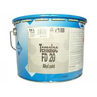 Эмаль алкидная TIKKURILA TEMALAC FD 20  TVH полумат антикоррозионная  18л