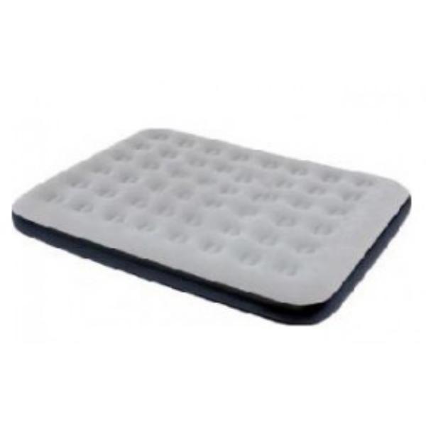 Двухспальный надувной флокированный матрас матрац BESTWAY 67409,серый