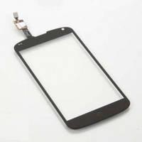 Тачскрин для LG E960 Nexus 4, черный, оригинал (Китай)
