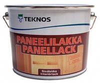 Лак панельный для  стен и потолков водный полуматовый Panelliiakka Teknos 9л