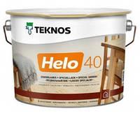 Лак для дерева яхтный универсальный уретан-алкидный полуглянцевый TEKNOS HELO 40 2,7л