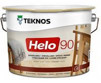 Лак для дерева яхтный универсальный уретан-алкидный высокоглянцевый TEKNOS HELO 90  2,7л