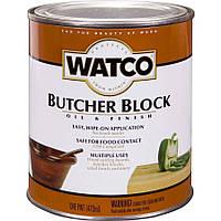Масло для разделочных столов и досок прозрачное,экологически чистое Watco RUST-OLEUM (США) 0,472 л.