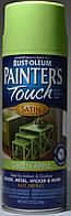 Эмаль универсальная алкидная RUST OLEUM Painter's Touch цвет зелёный полуматовый, спрей 0,340