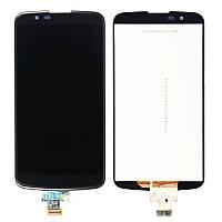 Дисплей для LG K350E K8/K350N/Phoenix 2 + touchscreen, черный