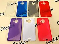 Силиконовый чехол Duotone для Microsoft Lumia 950 XL (7 цветов)