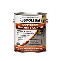 """Краска для бетона с эффектом камня цвет """"Серый камень""""Rust Oleum банка 3,78 л"""