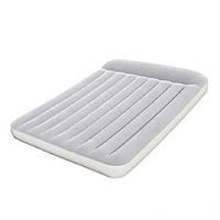Двуспальный надувной матрас матрац Bestway 67464 со встроенным насосом 203х152х22 см