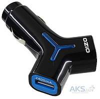 Зарядное устройство Ozio 5V/3.4A 2USB Black