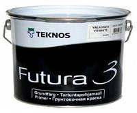 Грунт алкидный TEKNOS FUTURA 3 адгезионный белый 2,7л