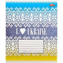 """Тетрадь 36_листов линия """"МРІЇ"""" / Я люблю Украину, фото 2"""