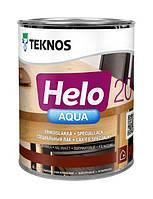 Лак паркетный полиуретановый TEKNOS HELO AQUA 20  полуматовый, 0,9л