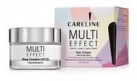 CARELINE MULTI EFFECT Активный дневной крем для лица, шеи и зоны декольте SPF25