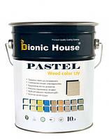 Краска для дерева акрилатная с антисептиком и УФ фильтром Pastel Wood Color Bionic House 1л