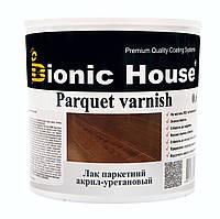 Лак для деревянных полов на водной основе глянцевый Bionic House 0,8л