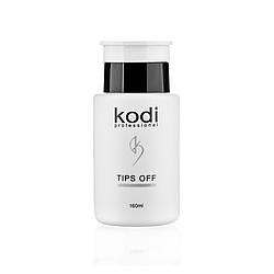 """Kodi """"Tips Off"""" Жидкость для снятия гель-лака и акрила 160 мл"""