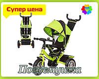 Детский трехколесный велосипед Turbo Trike 3113 Air - Зеленый