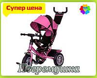 Детский трехколесный велосипед Turbo Trike 3113 Air - Розовый