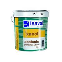 Лазурь для древесины акриловая на водной основе с УФ фильтром Ксанол Акабадо 4 Л