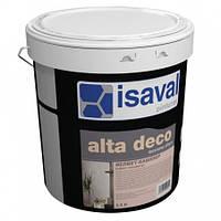 Декоративное покрытие  ISAVAL Сиамм 0.75 л серебро