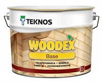 Грунтовка антисептическая для древесины TEKNOS Woodex Base  10 л