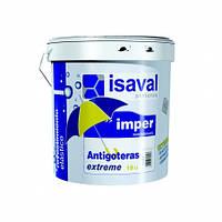 Гидроизоляционная эластичная краска-мастика воднодисперсионная ISAVAL Antigoteras Extreme 0.75 л бесцветный