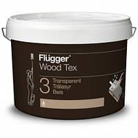Алкидная пропитка для дерева Flugger Wood Tex Transparent 9,1 л база 10