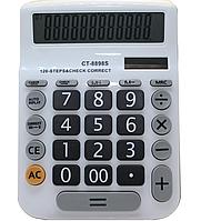 Калькулятор работает от света