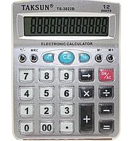 Калькулятор 12-ти разрядный TAKSUN-3822B (130 х 100)
