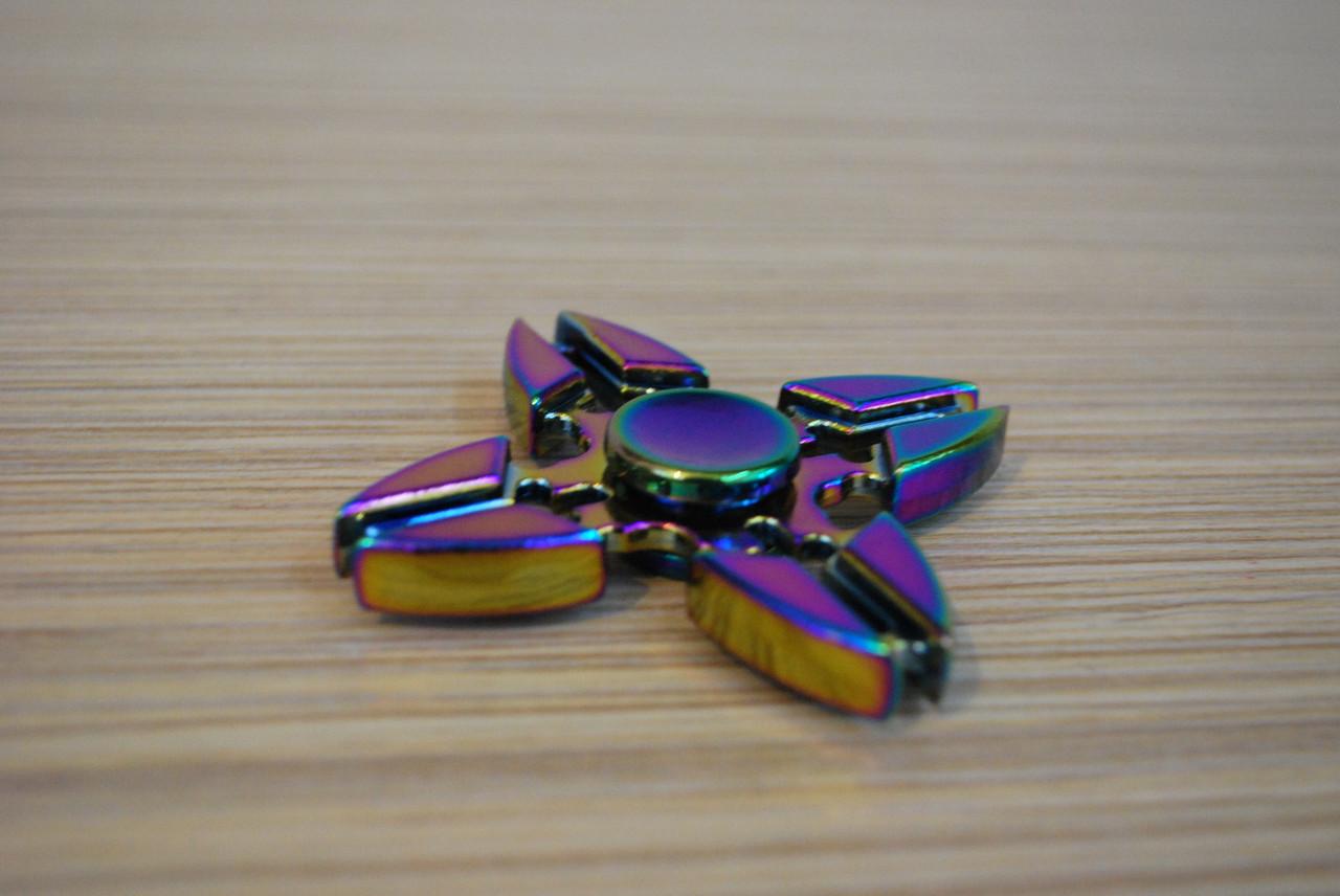 Hand Spinner спиннер металлический, антистресс, тренажер, Б349