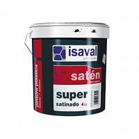 Краска для влажных помещений  ISAVAL Satinado Super 4л