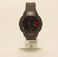 Часы наручные с led подсветкой пластмассовые