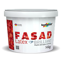 Фасадная краска FASADE Latex Kompozit (1.4 кг)