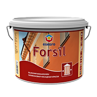 Силиконовая фасадная краска ESKARO Forsil 9.5л