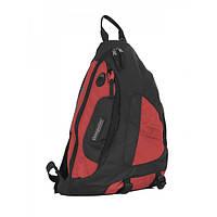 Рюкзак 20 л Onepolar 1249 красный через плечо.