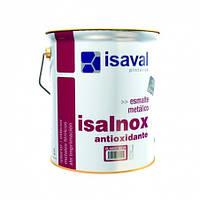 Эмаль по металлу противкоррозионная белая ISAVAL Isalnox 0,75л
