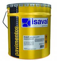 Двухкомпонентная полиуретановая краска для пола цвет серый  ISAVAL Duepol 4  л