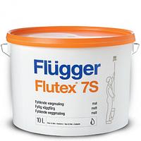 Краска акриловая шелковисто-матовая для стен и потолков Flugger Flutex 7S+  2,8 л