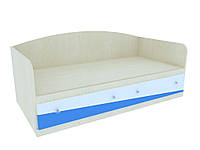 Детская односпальная кровать Синяя молния