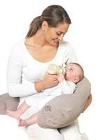 Подушка для беременных и кормления малыша 90х90 в форме подковы