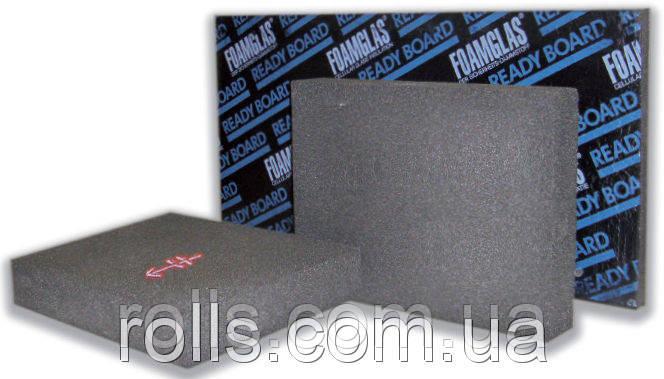 Foamglas ReadyBoard 1200х600х100мм утепление фундаментов цоколей плоских кровель скатных пеностекло Бельгия