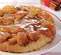 Яблочный пирог с карамельно кремовыми шариками