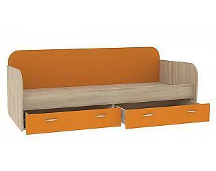Детская односпальная кровать  Апельсин
