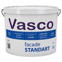 Акриловая фасадная краска Vasco Facade Standart 2.7л