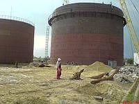Изготовление резервуаров объемом от 5 до 50000 м³