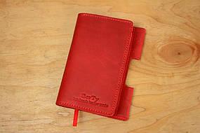 Обложка для блокнота формата А6 |10566| Красный