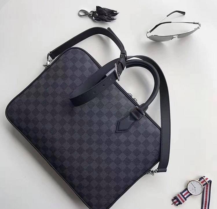 Мужской портфель Louis Vuitton Dandy Slim, цена 8 900 грн., купить в ... 180dc78c014