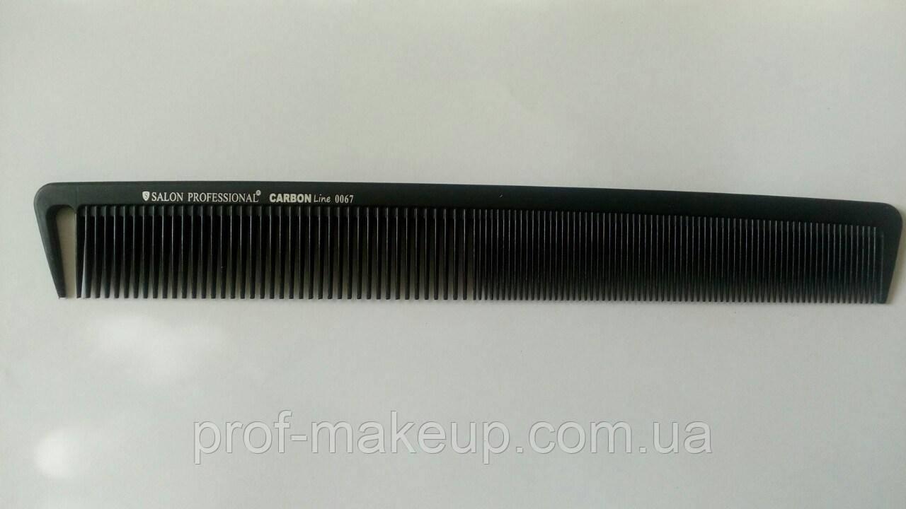 Гребінець Salon Professional Carbon Line прямокутна