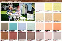 Краска лазурь для дерева акрилатная водоразбавляемая BIONIC HOUSE Pastel Wood Color 10 л Баунти Р202