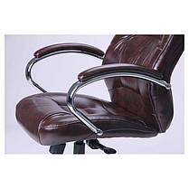 Кресло Мустанг Хром Anyfix Мадрас ДК Браун (AMF-ТМ), фото 3